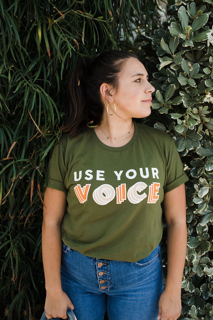 The Use Your Voice T-Shirt