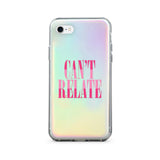 Capa de iPhone Can't Relate Holographic | Image 3