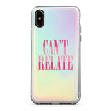 Capa de iPhone Can't Relate Holographic | Image 4
