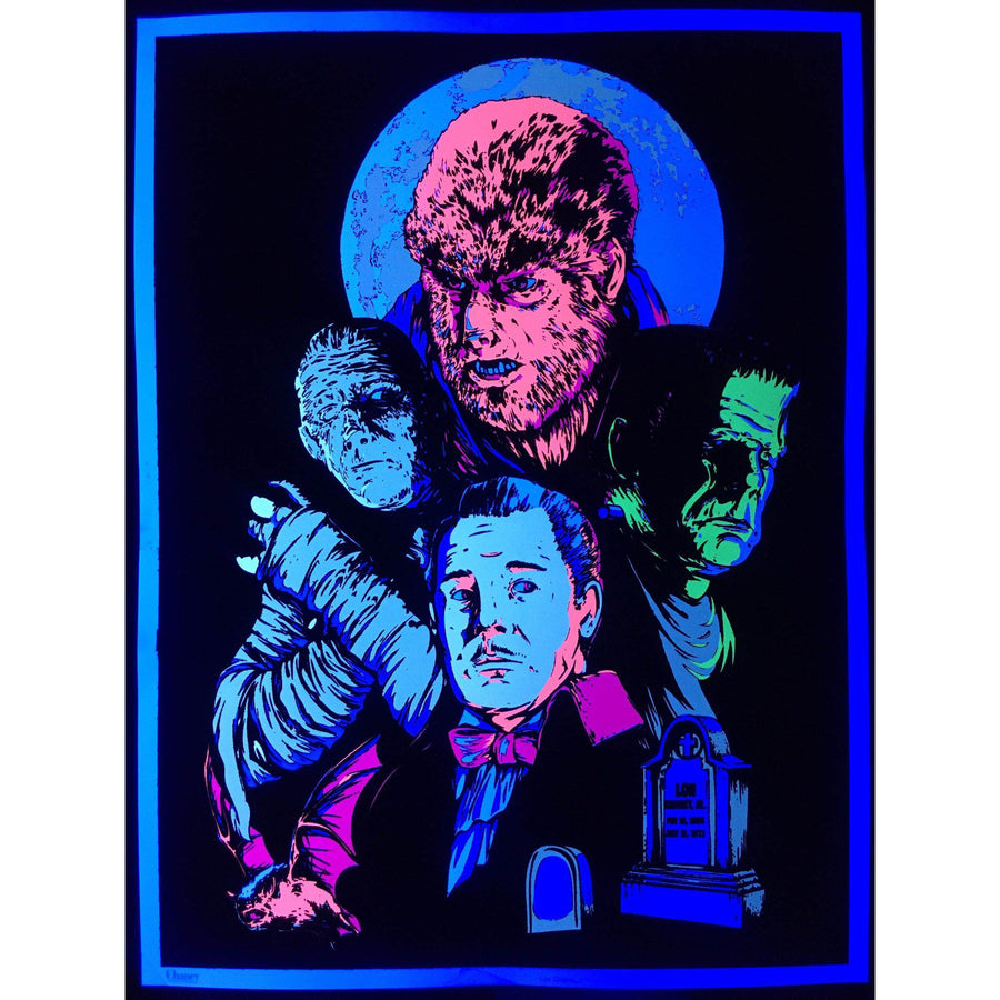 Black Light Chaney Jr Poster