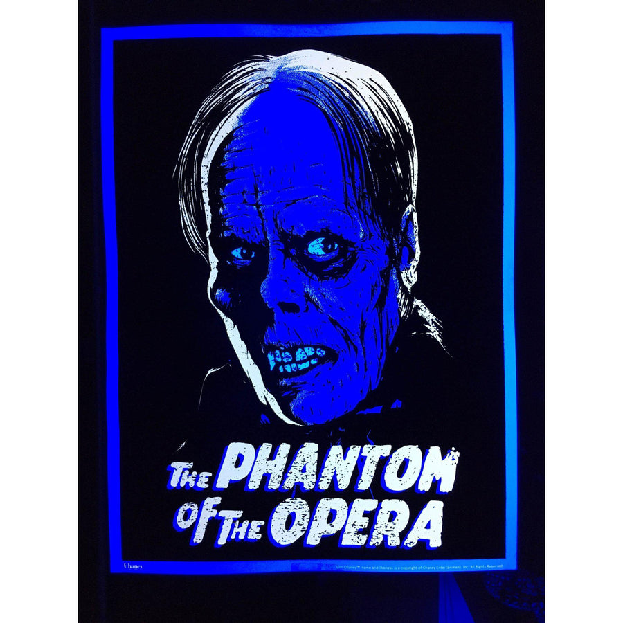 Black Light Phantom of the Opera Poster