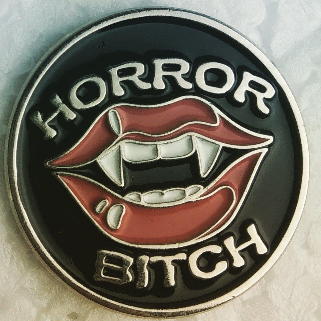 Horror Bitch Lapel Pin