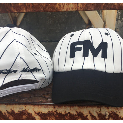 FM Striped Dad Cap