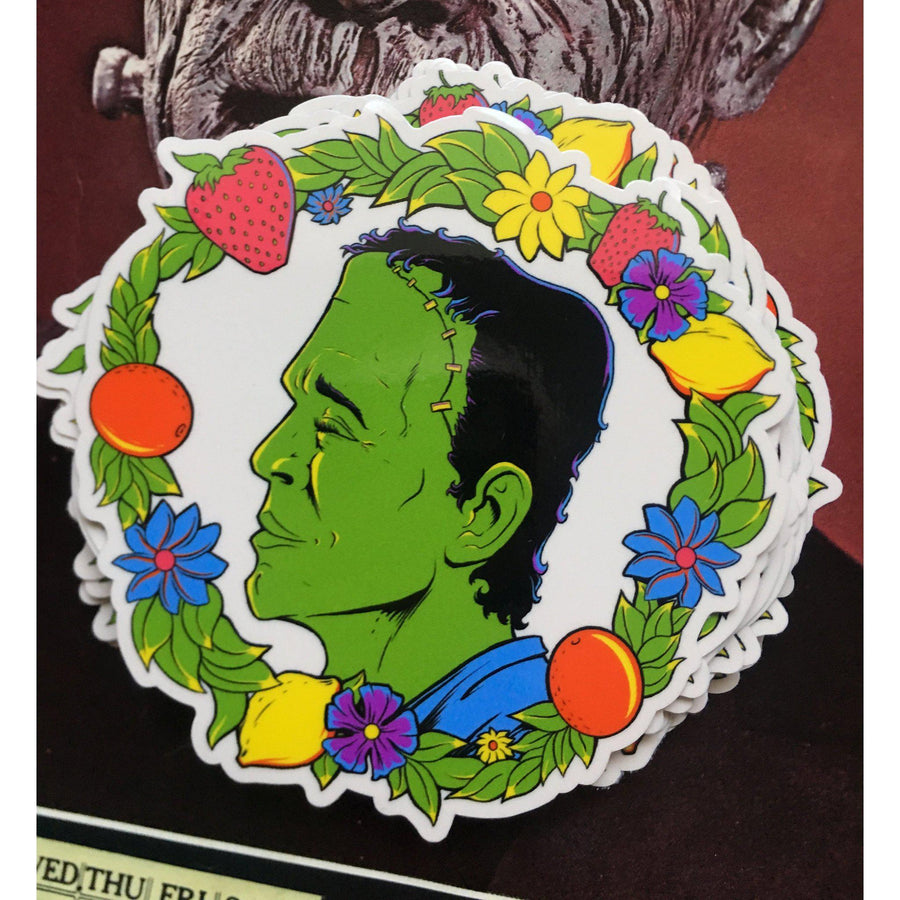 Frankenfruit Sticker