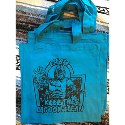 Keep the Lagoon Clean Tote Bag