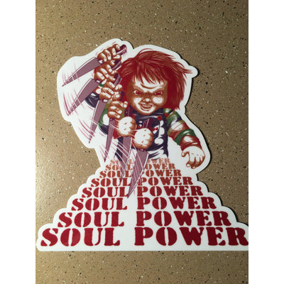 Soul Power Sticker