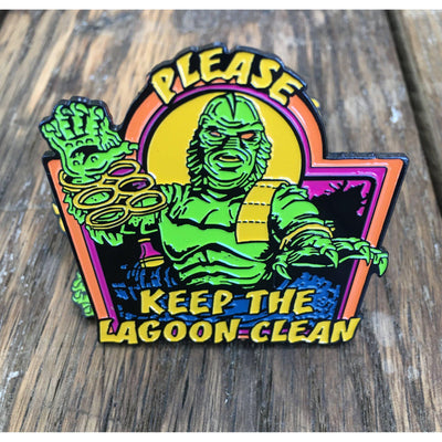 Keep the Lagoon Clean Pin