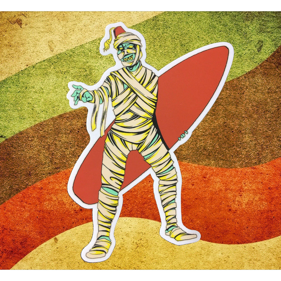 Beach Mummy Sticker