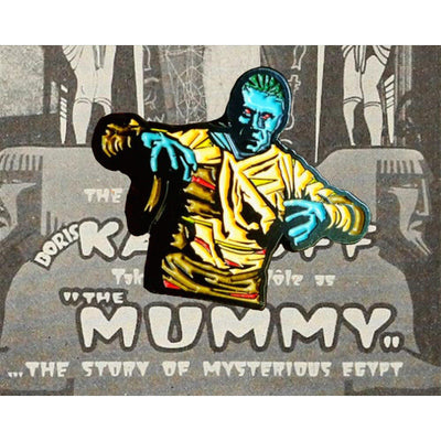 Mummy Lapel Pin