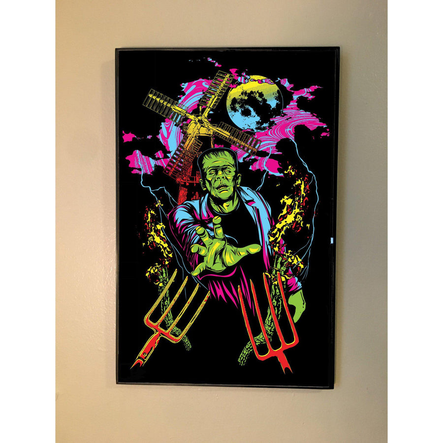 Black Light Frankenstein Poster