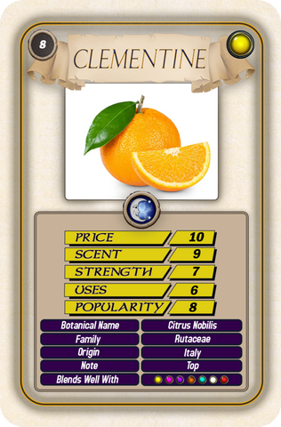 Clementine Top Trump Card