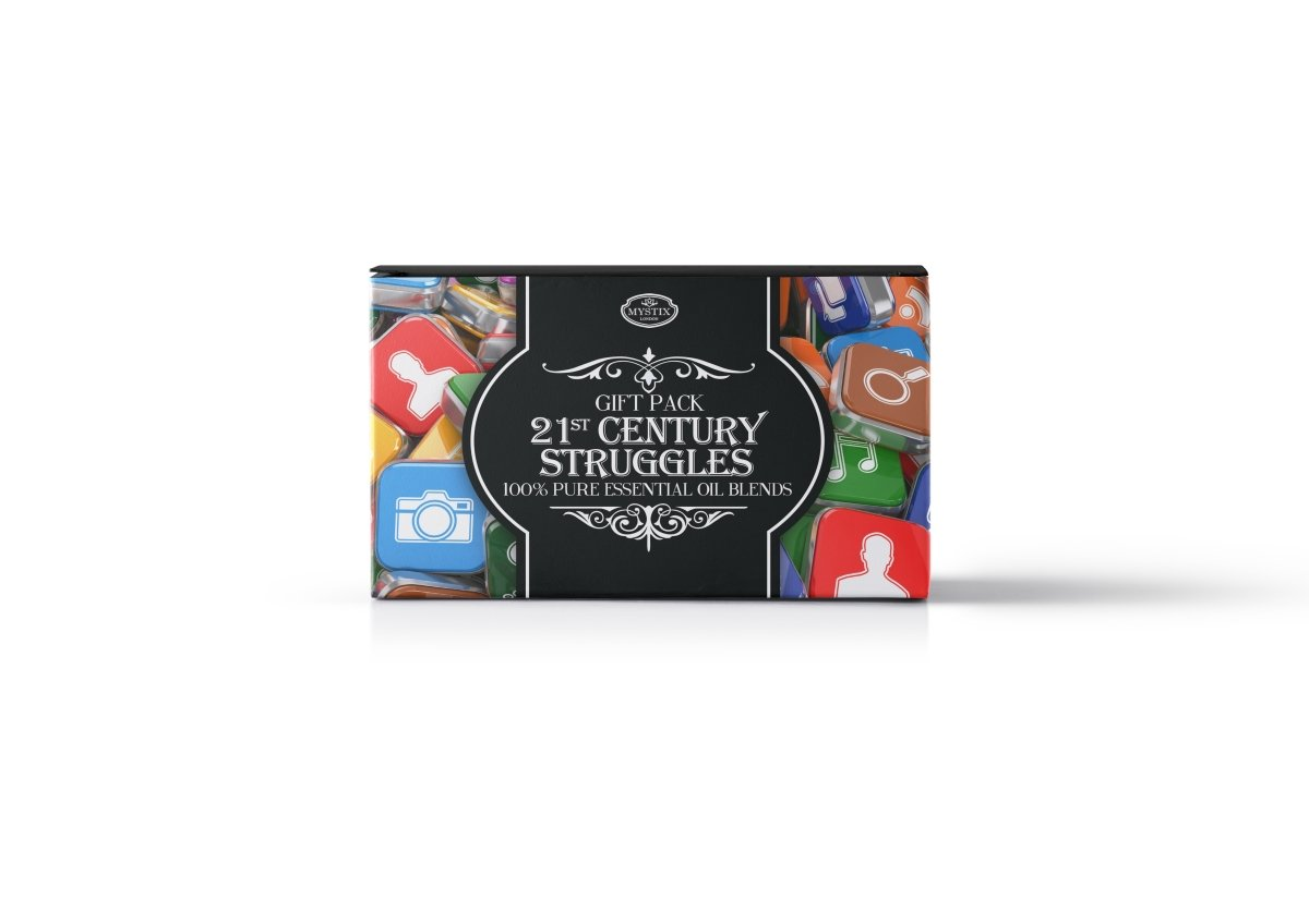 21st Century Struggles | Essential Oil Blend Gift Pack - Mystic Moments UK