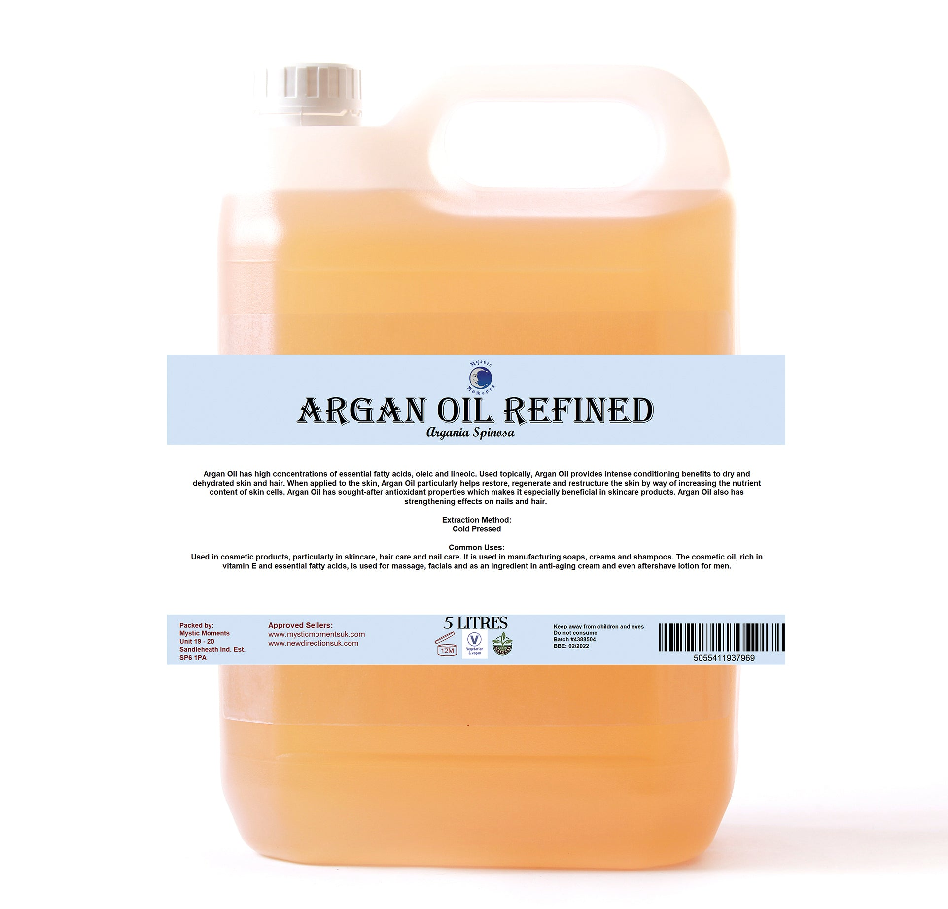 Argan Refined Carrier Oil