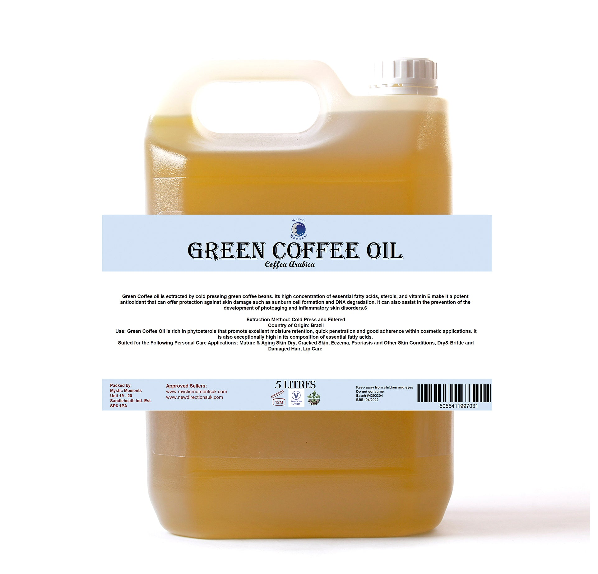 Green Coffee Carrier Oil
