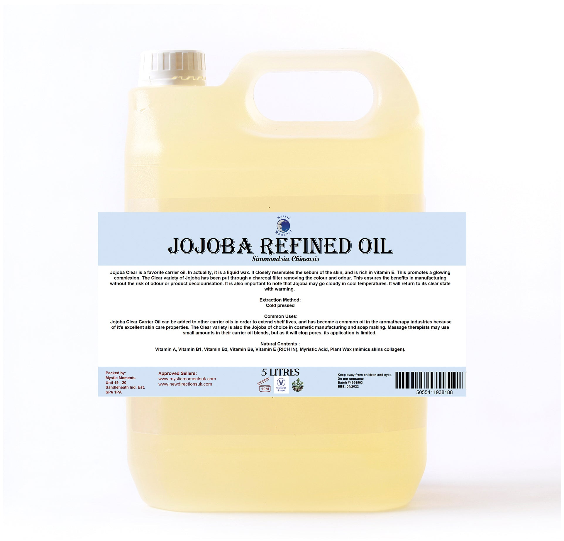 Jojoba Refined Carrier Oil