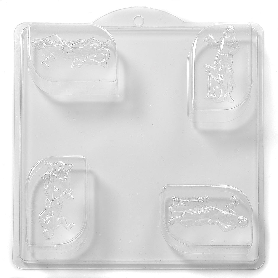 1920's Lady PVC Mould (4 Cavity) L05