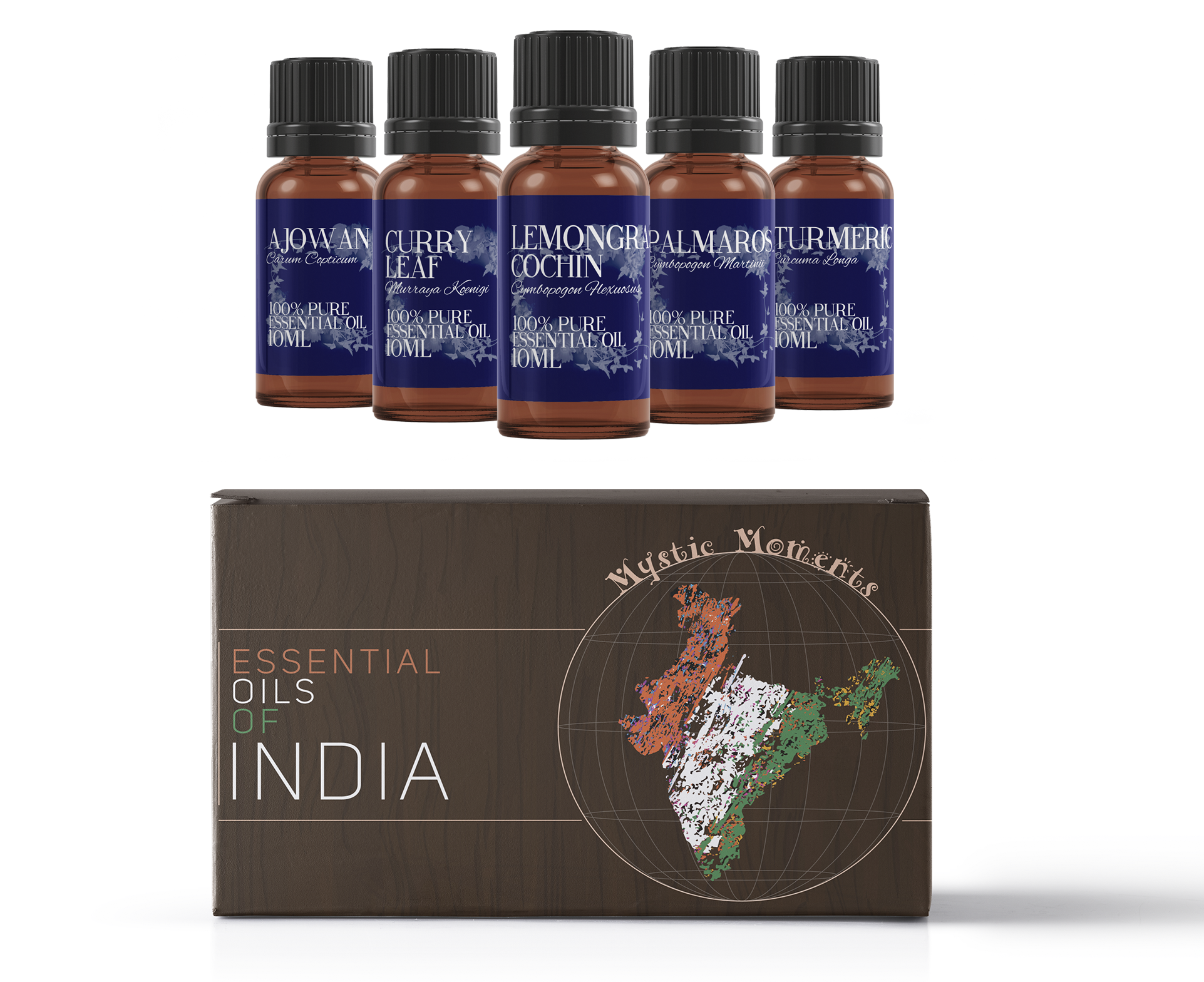 Essential Oils Of India | Essential Oil Gift Starter Pack