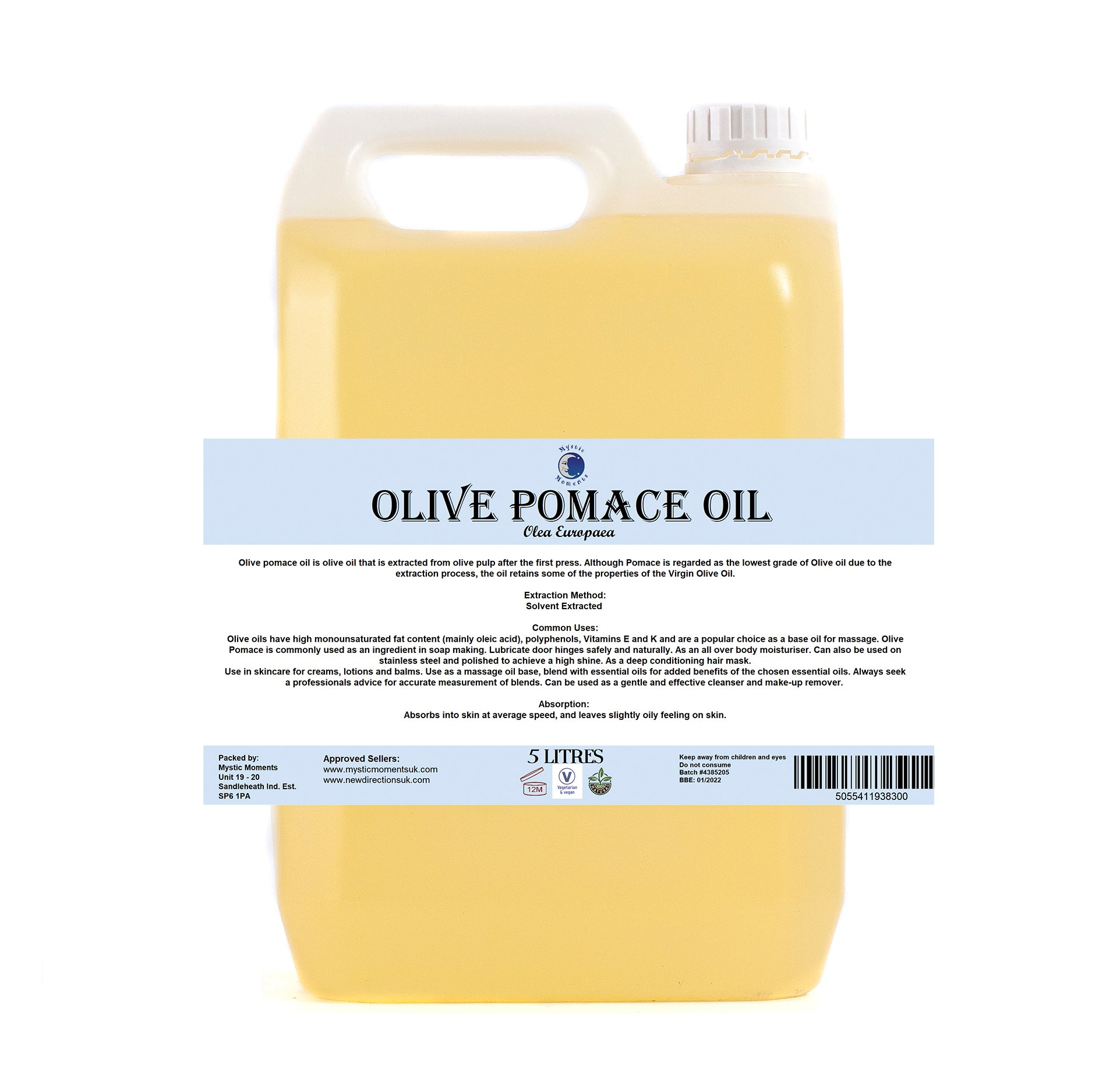 Olive Pomace Carrier Oil