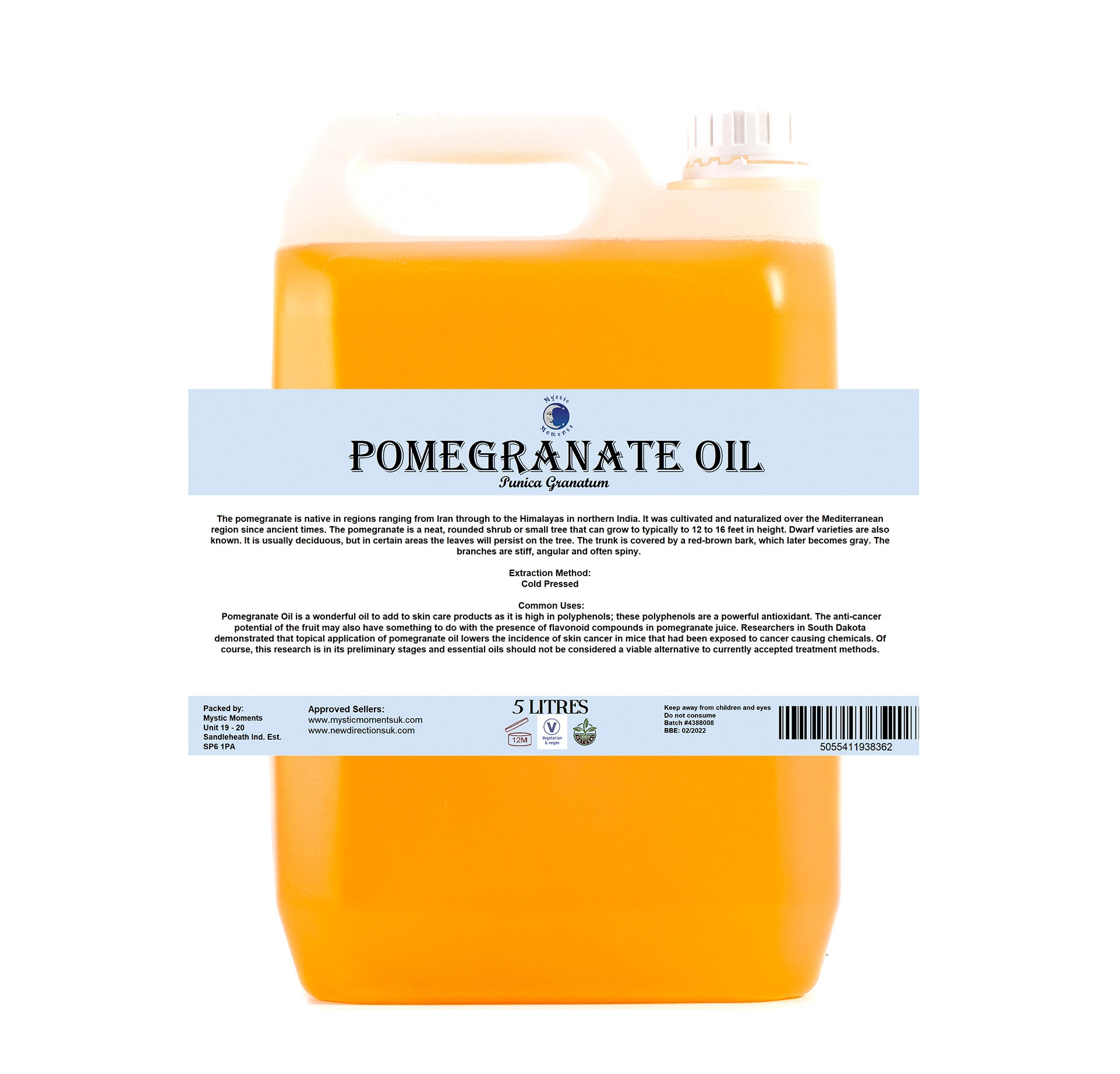 Pomegranate Carrier Oil