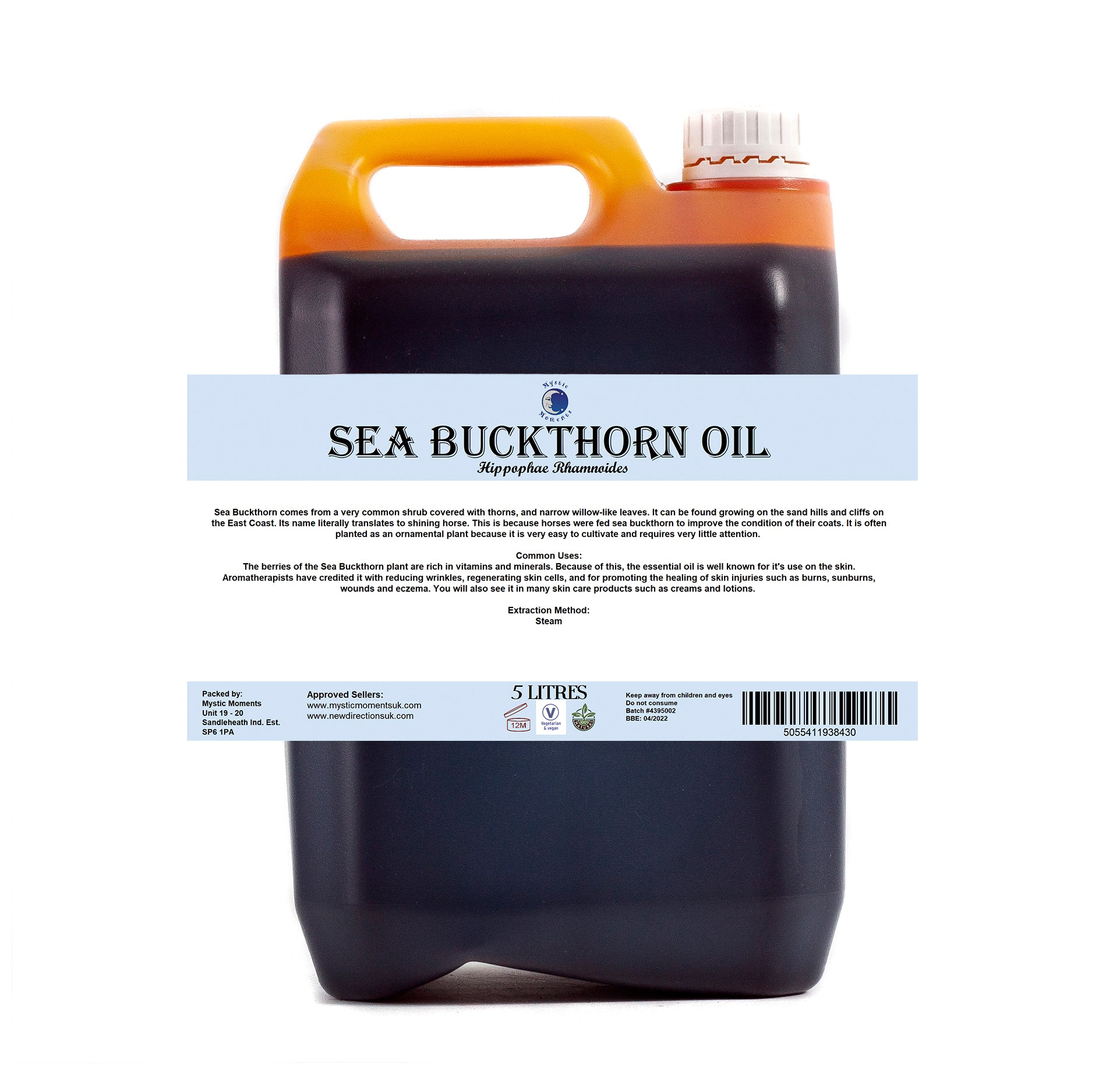 Sea Buckthorn Virgin Carrier Oil