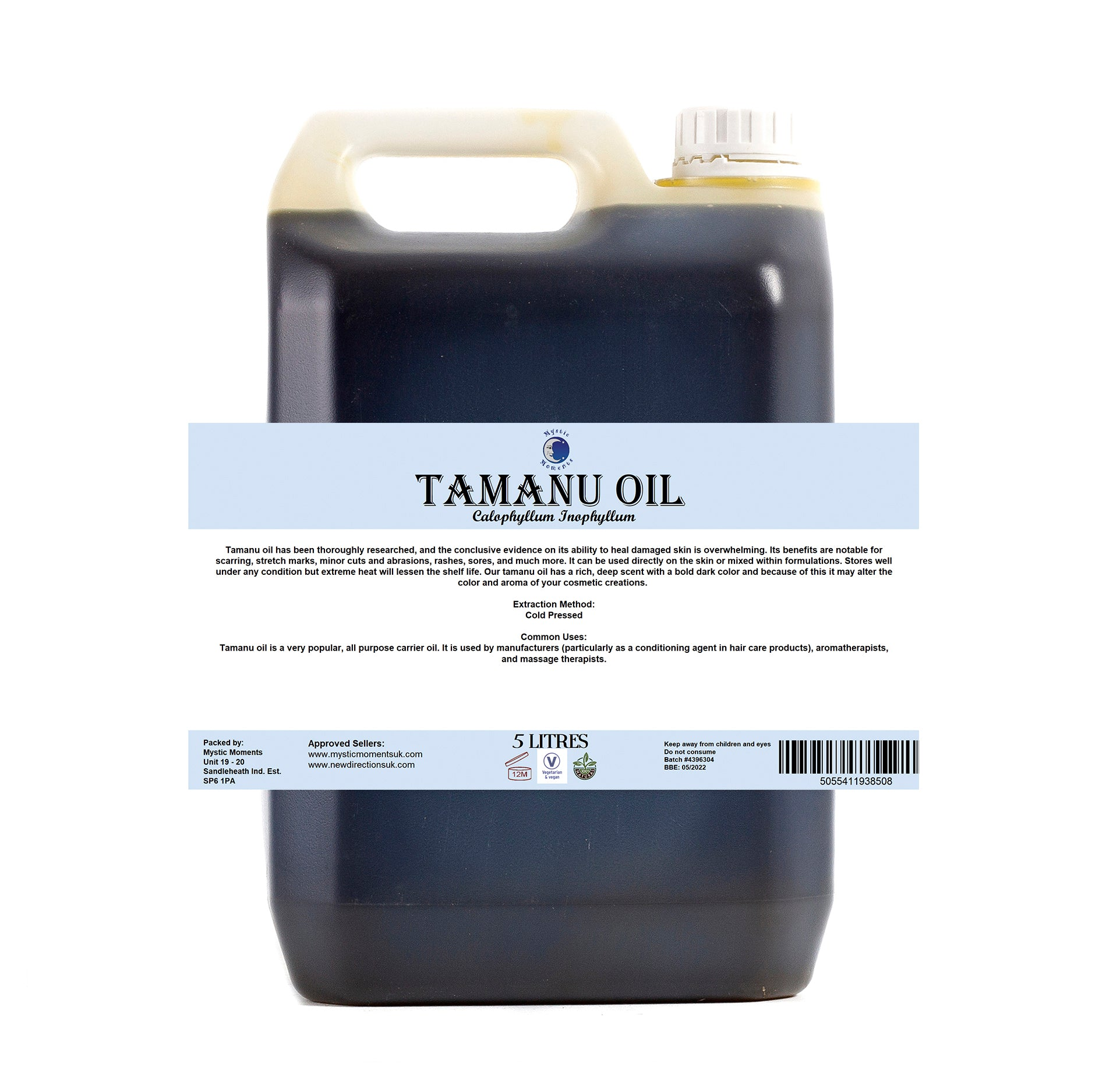 Tamanu Virgin Carrier Oil