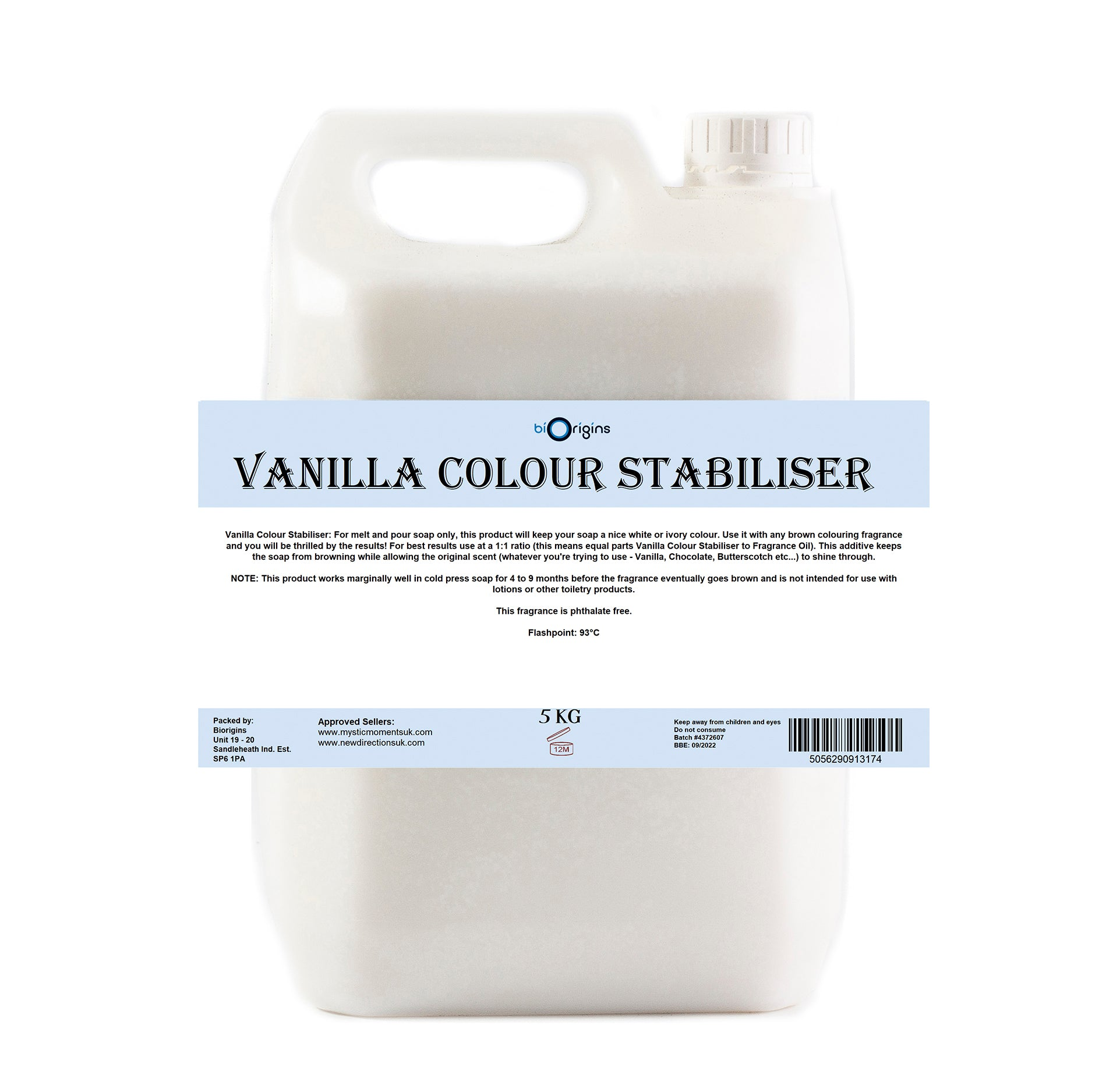 Vanilla Colour Stabiliser Liquid