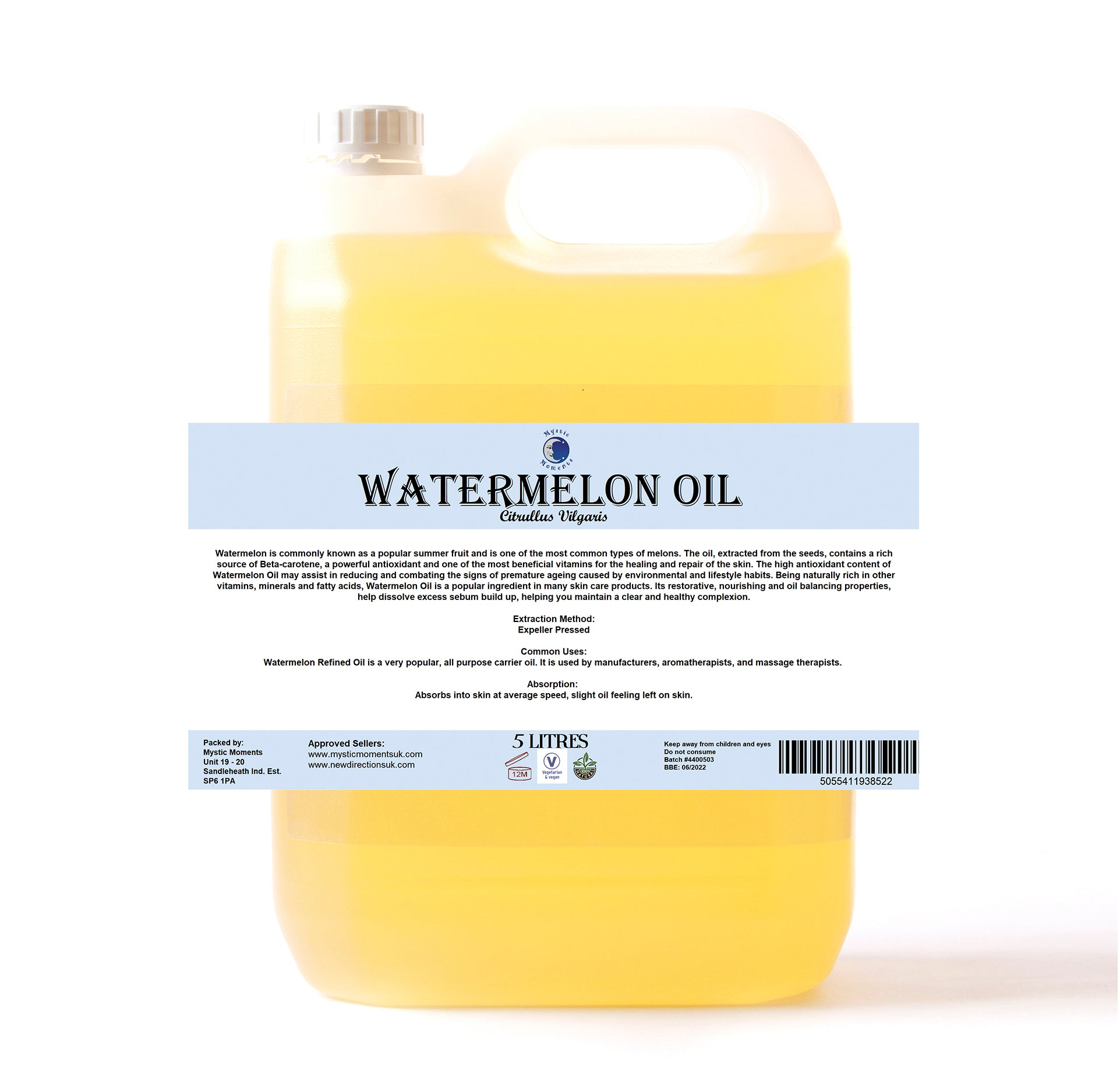 Watermelon Carrier Oil