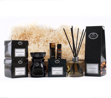 Aphrodisiac | Premium Aromatherapy Hamper - Mystic Moments UK