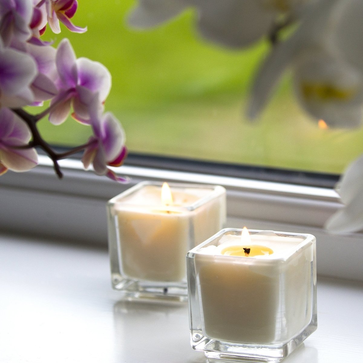Apple Pie & Cinnamon Scented Candle - Mystic Moments UK