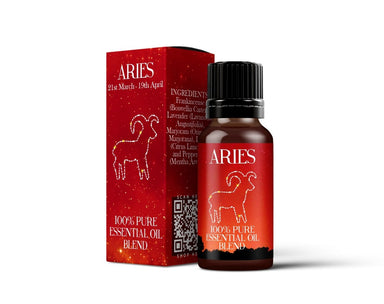 Aries - Zodiac Sign Astrology Essential Oil Blend - Mystic Moments UK