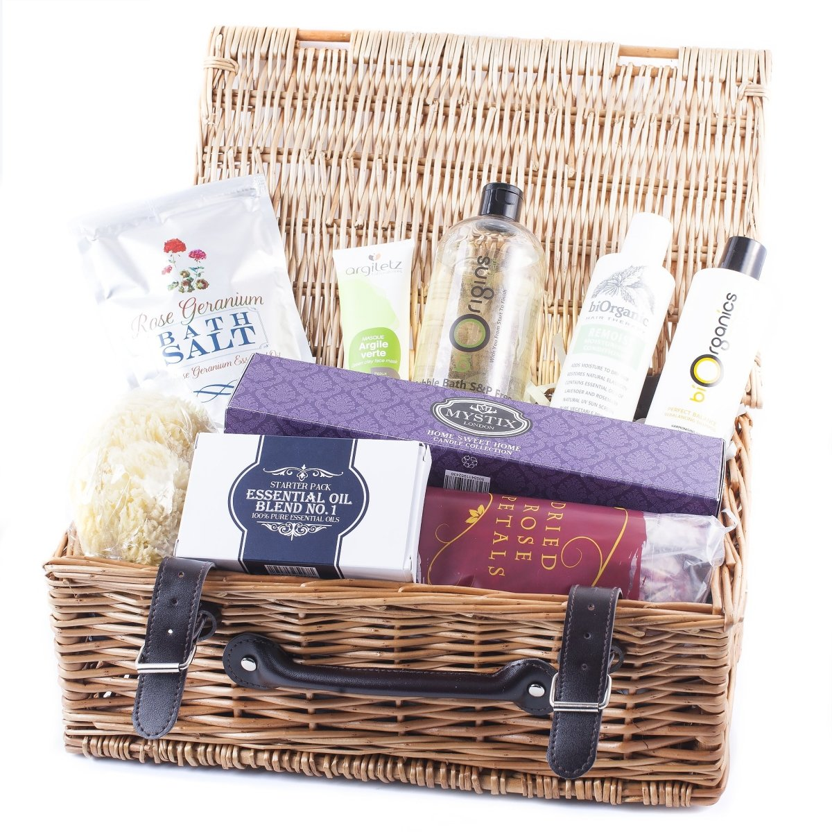 Bathtime Pamper Hamper Deluxe - Mystic Moments UK