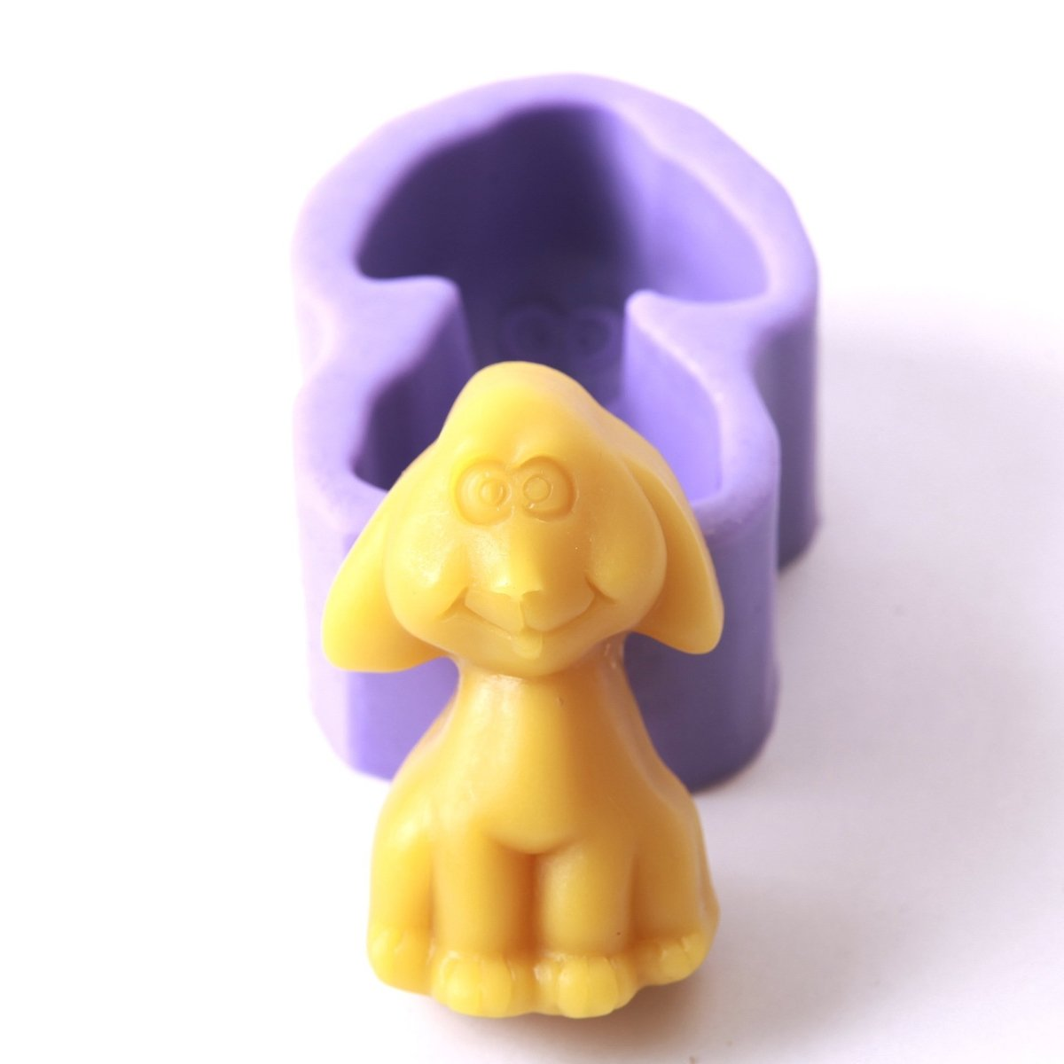 Cartoon Dog Silicone Soap Mould H0051 - Mystic Moments UK