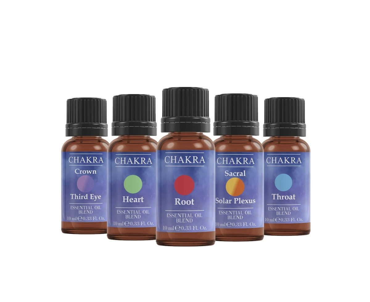 Chakra | Essential Oil Blend Gift Pack - Mystic Moments UK