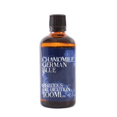 Chamomile German Blue Essential Oil Dilution - Mystic Moments UK