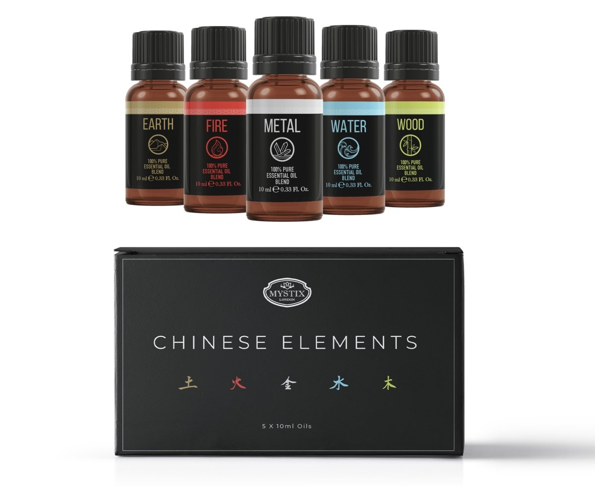 Chinese Elements | Essential Oil Blend Gift Pack - Mystic Moments UK