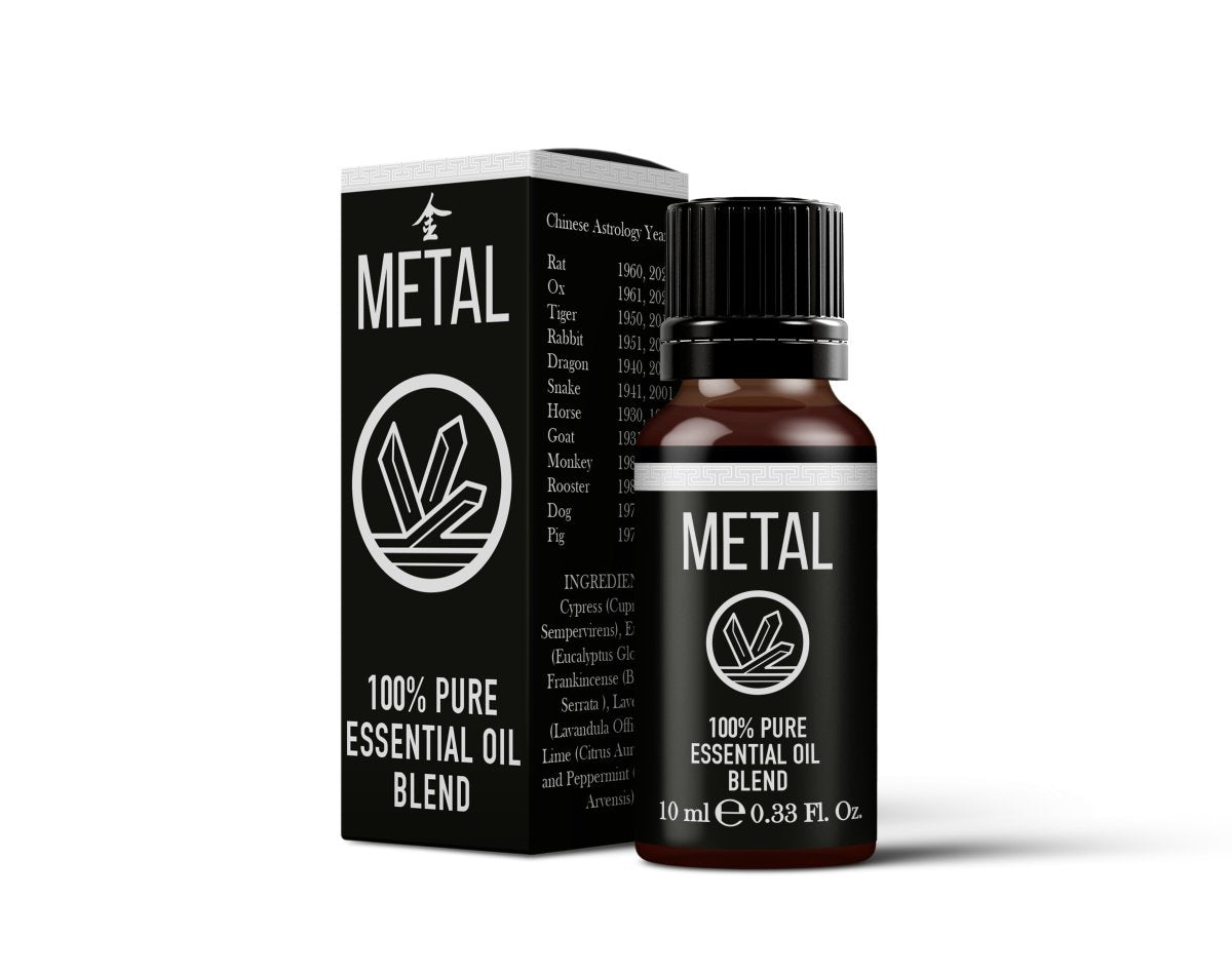 Chinese Metal Element Essential Oil Blend - Mystic Moments UK