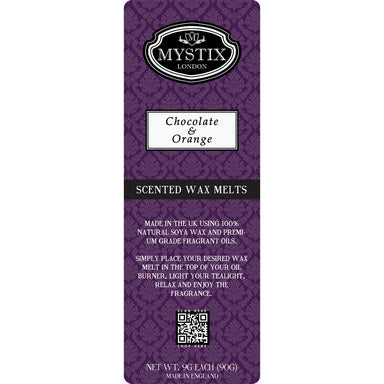 Chocolate & Orange | Wax Melt Clamshell - Mystic Moments UK
