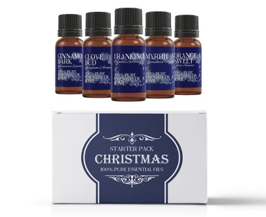 Christmas | Essential Oil Gift Starter Pack - Mystic Moments UK