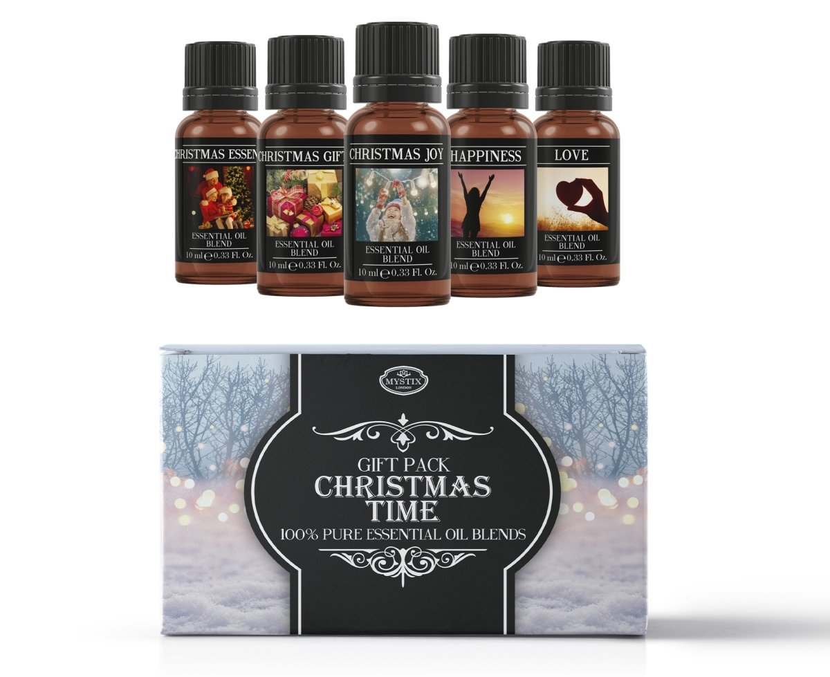Christmas Time | Essential Oil Blend Gift Pack - Mystic Moments UK