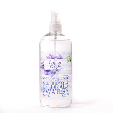 Clary Sage Hydrosol Floral Water - Mystic Moments UK