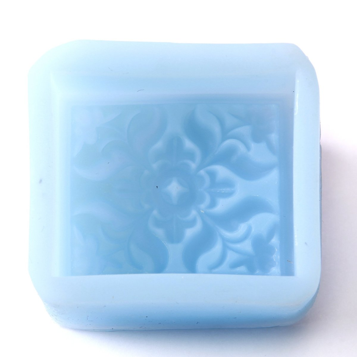 Classic Square Silicone Soap Mould R0360 - Mystic Moments UK