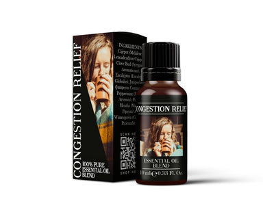 Congestion Relief - Essential Oil Blends - Mystic Moments UK