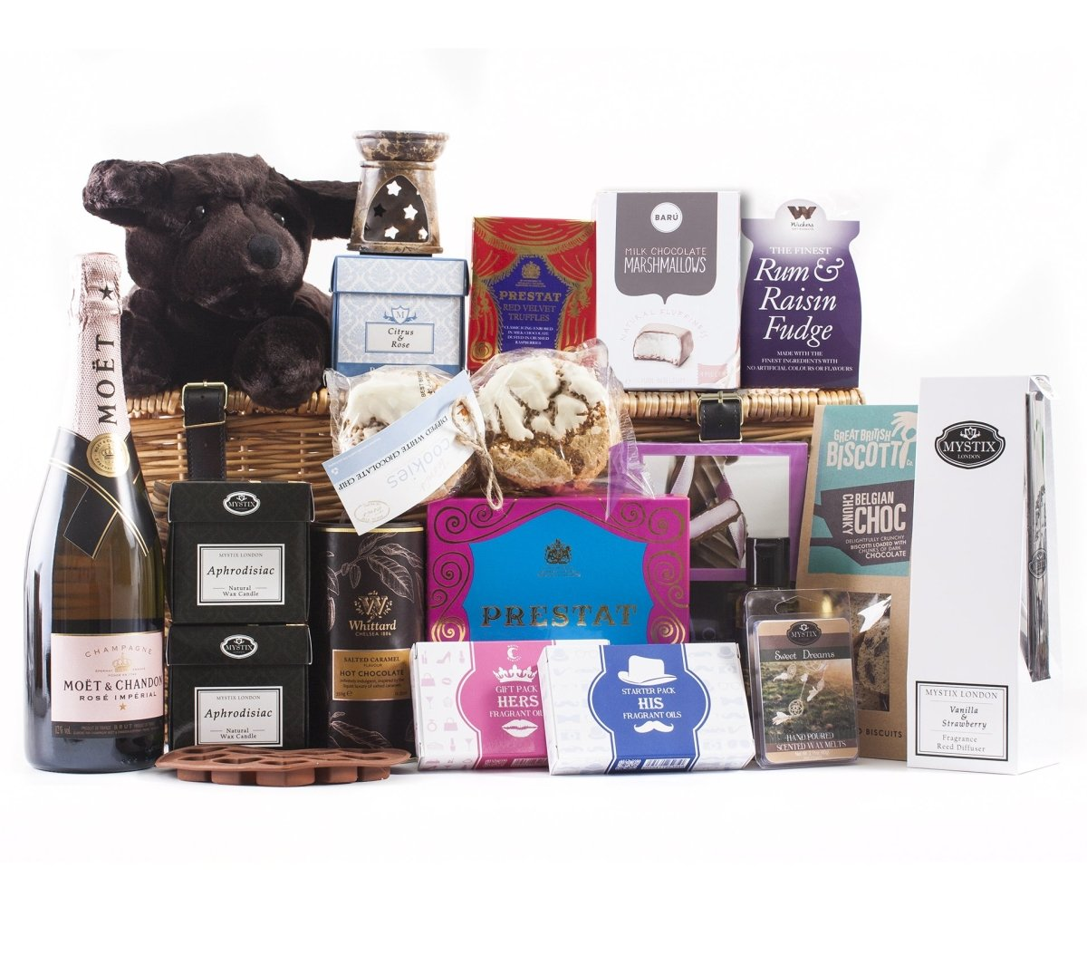 Cosy Couples Deluxe Hamper - Mystic Moments UK