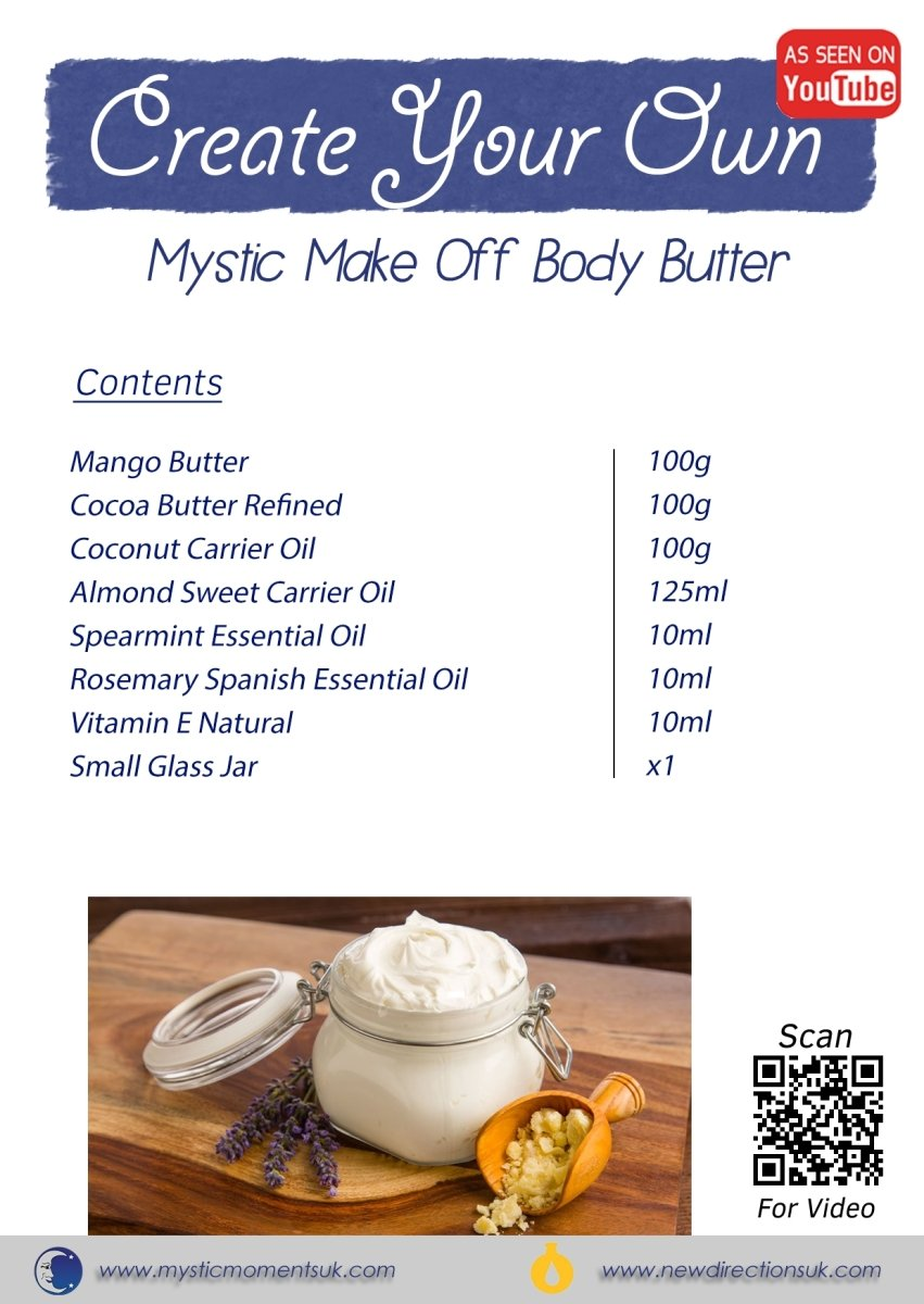 Create Your Own - Mystic Make Off Body Butter - Mystic Moments UK
