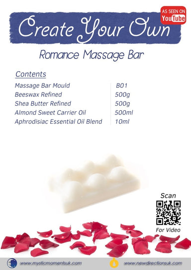 Create Your Own – Romance Massage Bar - Mystic Moments UK
