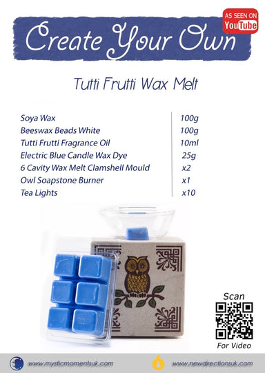 Create Your Own - Tutti Frutti Wax Melt - Mystic Moments UK
