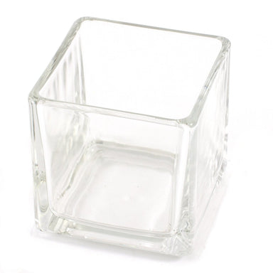 Cube Candle Glass Jar 29cl - Mystic Moments UK