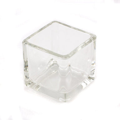 Cube Candle Glass Jar 8cl - Mystic Moments UK