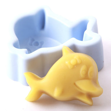 Dolphin Silicone Soap Mould R0237 - Mystic Moments UK