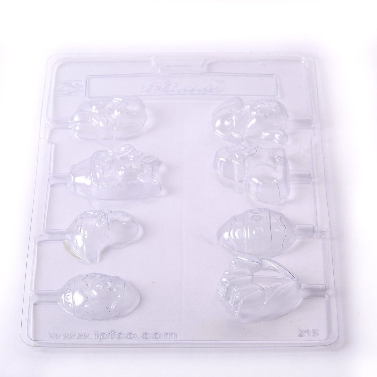 Easter Lollies Chocolate/Sweet/Soap/Plaster/Bath Bomb Mould #215 (8 cavity) - Mystic Moments UK